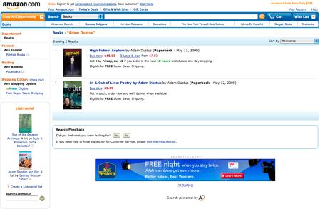 Amazon.com Screen Cap