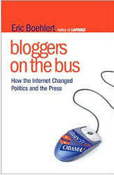 bloggers on bus